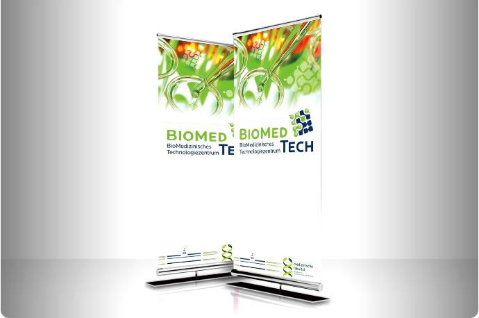 Roll-up Banner Biomedtech